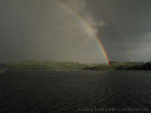 6 Regnbue over Hald Sø